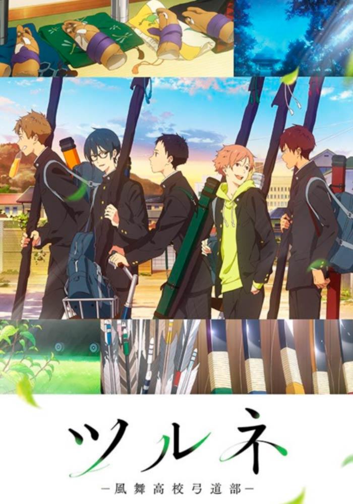 Tsurune: Kazemai Koukou Kyuudou-bu anime - poster