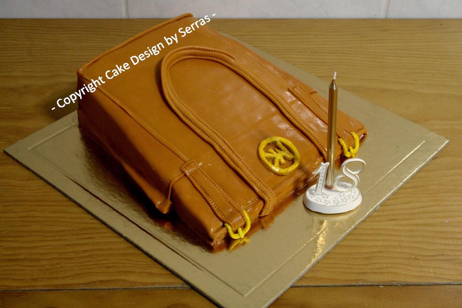 4ca436a1e Cake Design by Serras: Bolo de Aniversário - Michael Kors Handbag