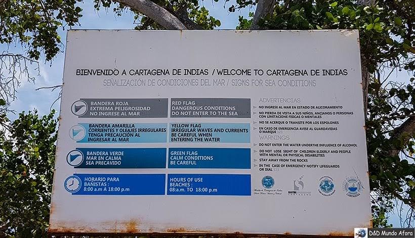 Playa Blanca: caribe colombiano em Cartagena