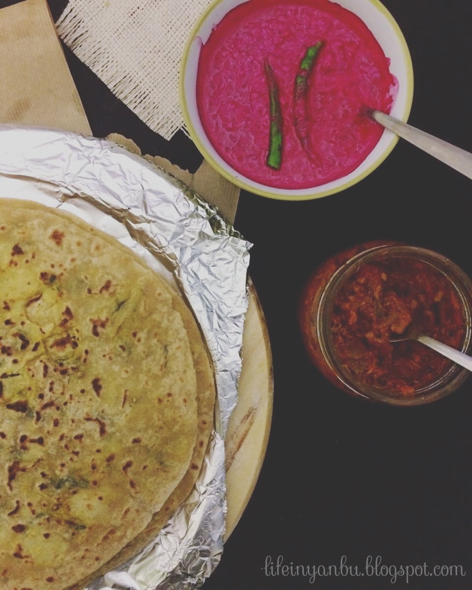 Beetroot Yoghurt Dip | Raitha