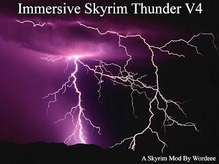 Skyrim Mod: Immersive Thunder