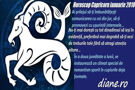 Horoscop ianuarie 2018 Capricorn