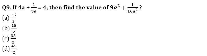 Algebra Questions for SSC CGL TIER-2 , SSC Stenographer & IB (ACIO) 2017_220.1