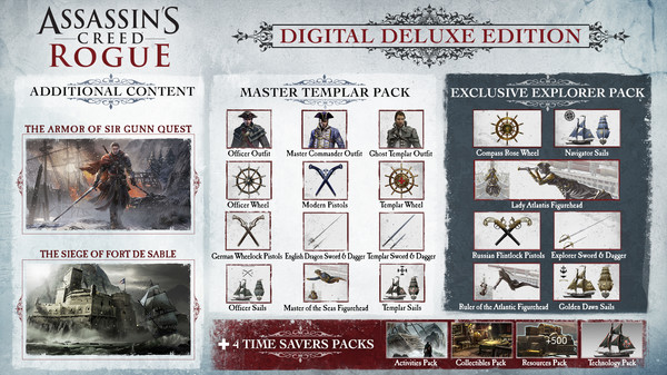 Assassins Creed Rogue PC Download FREE