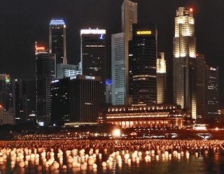 city light effect at night photography