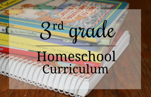 Curriculum choices for a 3rd grade homeschooler
