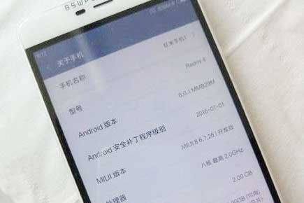 Xiaomi Redmi 4 & Note 4 Specs Spotted in TENAA