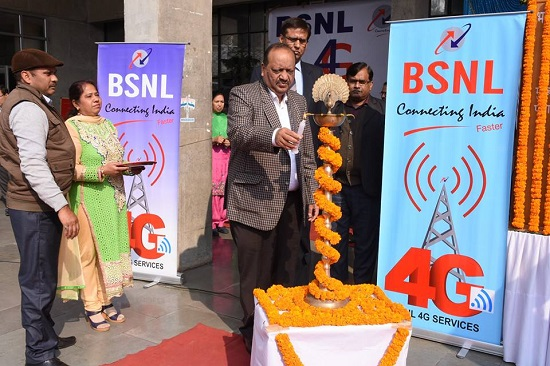 BSNL opened 4G experience centre in Punjab, Plans to launch Commercial Services by February 2016