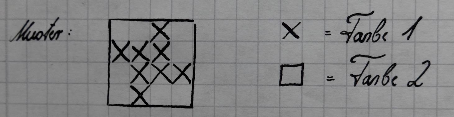 Seidenraupe Handarbeitsblog Anleitung Für Einen Hahnentritt Loopschal
