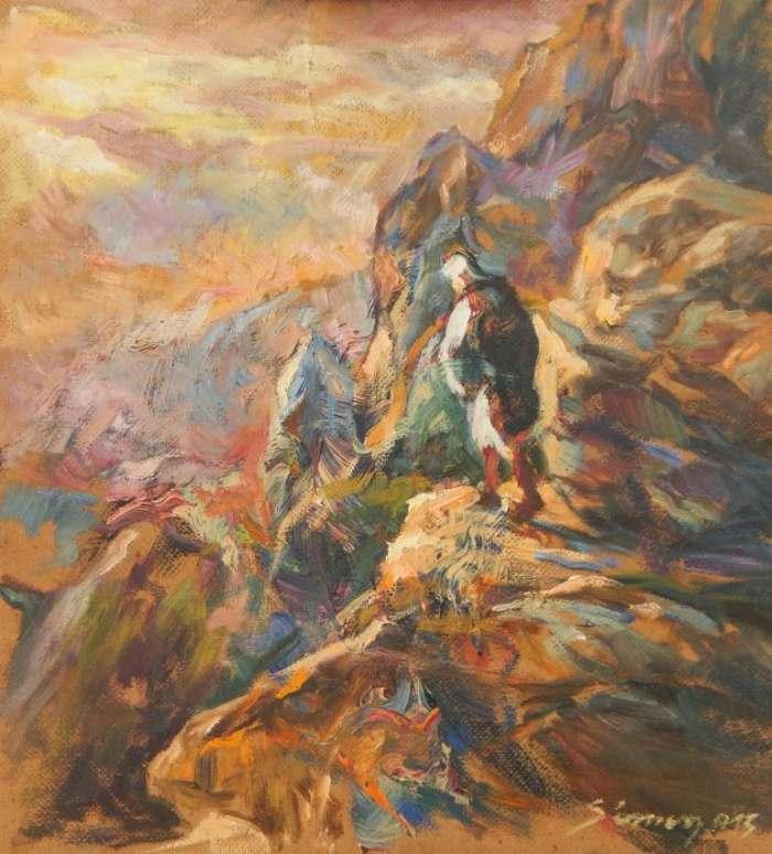 Хорватский художник. Sinisa Simon