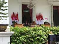 Bertemu Mendadak, Apa yang Dibahas Jokowi dan SBY?