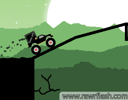 Por que um caminhão monstro faria entregas em uma floresta? Esse jogo é simples, mas você consegue completar todas as entregas?