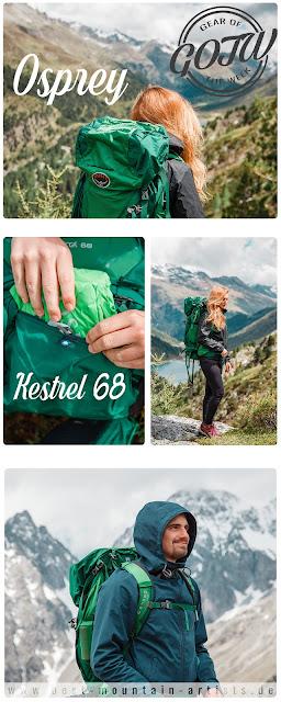 Osprey Kestrel 68 Trekkingrucksack zum Wandern