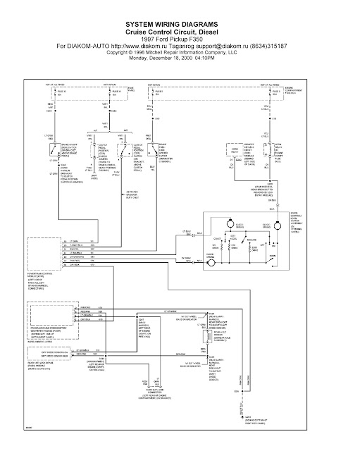1997 ford pickup f350 cruise control circuit system wiring. Black Bedroom Furniture Sets. Home Design Ideas