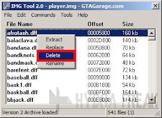 Cara menghapus berkas dengan IMG Tool 2.0 - 1