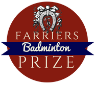 Badminton Farriers Prize badge