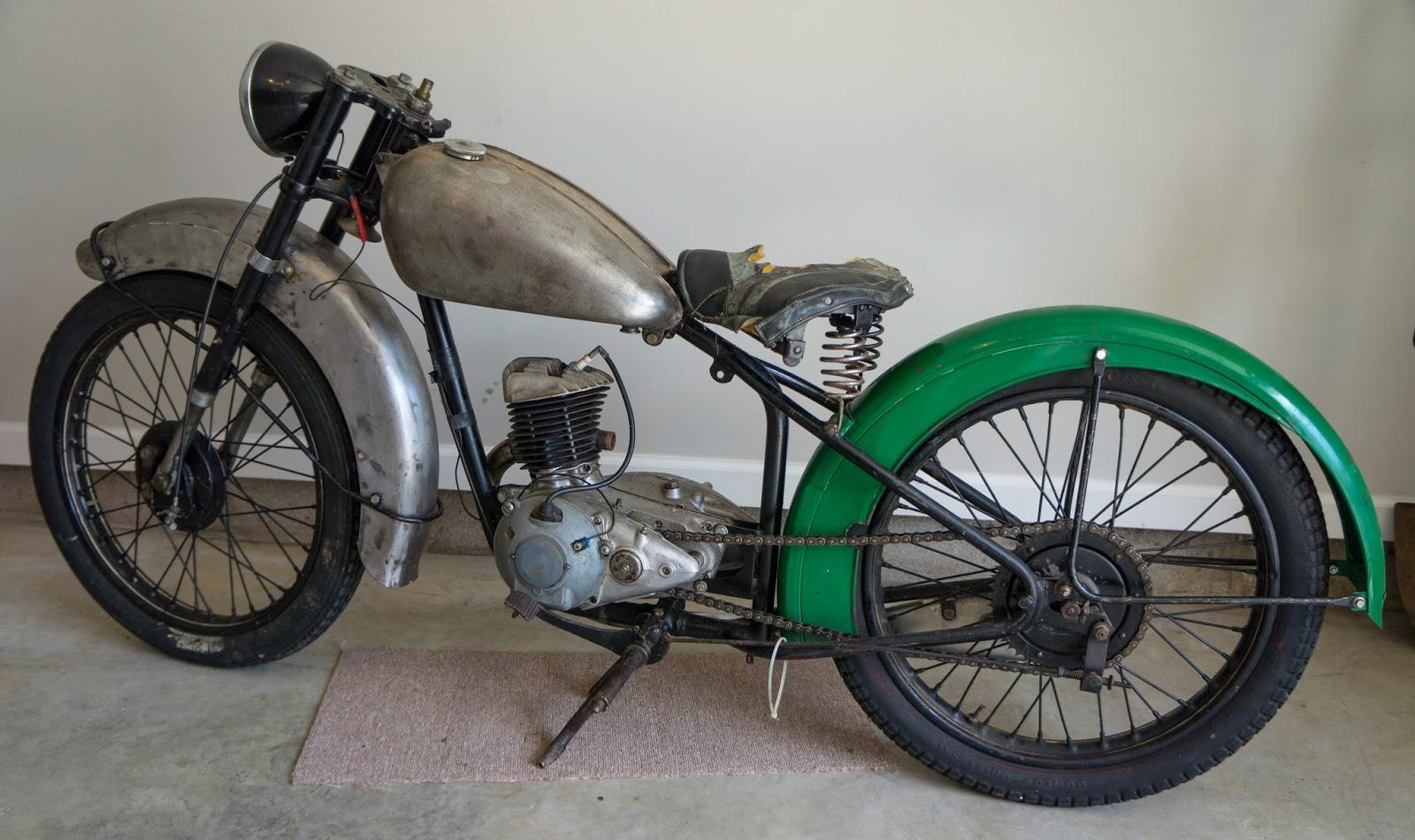 BSA BANTAM MOTORCYCLES I HAVE OWNED: 1949 BSA BANTAM D1
