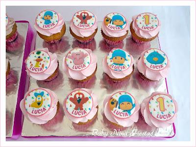 minicupcakes pocoyo