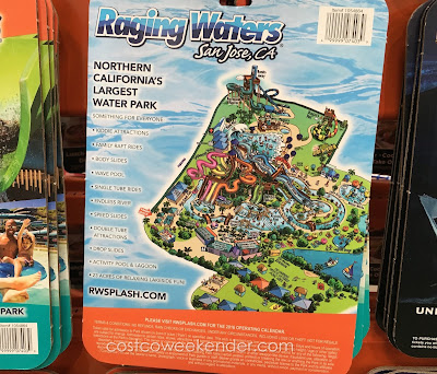 Costco 1054864 - Cool that summer time heat at Raging Waters, San Jose, CA
