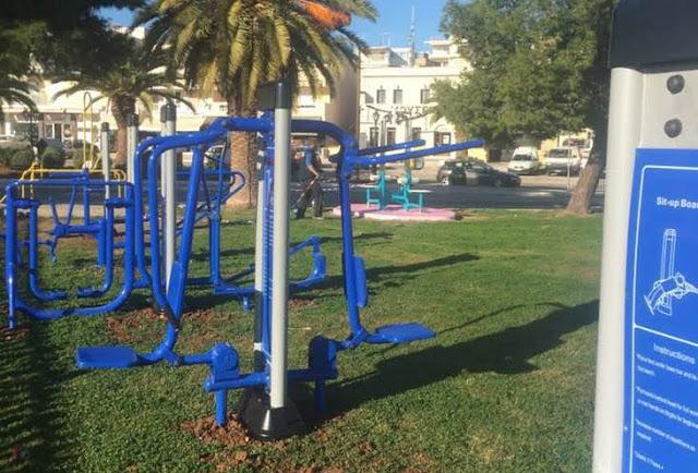 Όργανα γυμναστικής εξωτερικών χώρων στο Δήμο Ερμιονίδας - Επισκευές σε 16 παιδικές χαρές