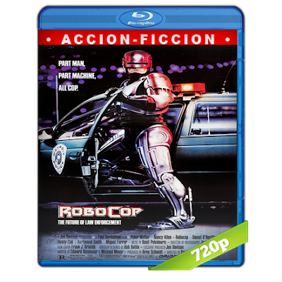 RoboCop (1987) BRRip 720p Audio Trial Latino-Castellano-Ingles 5.1
