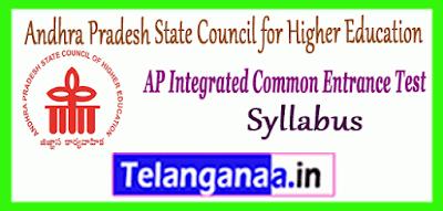 Andhra Pradesh Integrated Common Entrance Test Syllabus