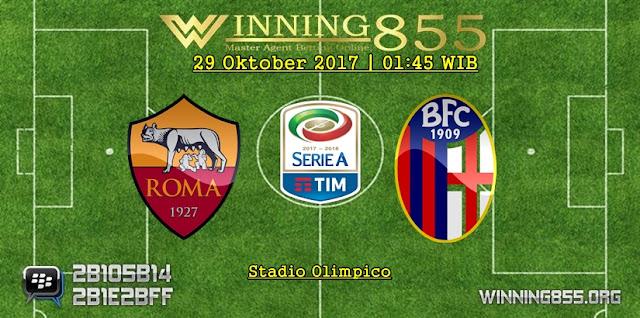 Prediksi Akurat Roma vs Bologna   29 Oktober 2017