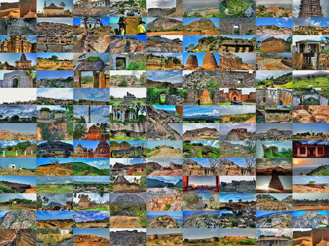 Forts of Karnataka - ಕರ್ನಾಟಕದ ಕೋಟೆಗಳು