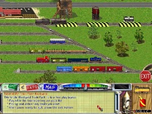 Free Download Game: 3D Ultra Lionel Train Town Deluxe Game