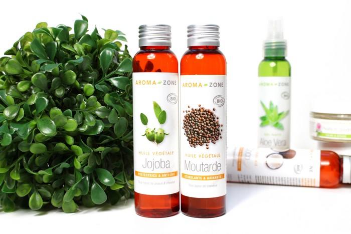 huiles végétales aroma zone