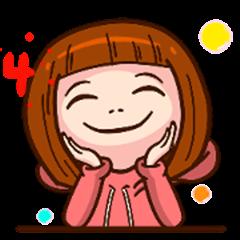 Girlsfriend practical emoticonsos(4)