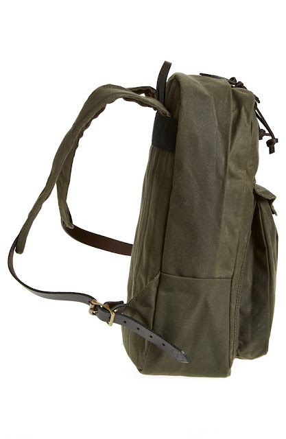 Filson 'Journeyman' Coated Canvas Backpack