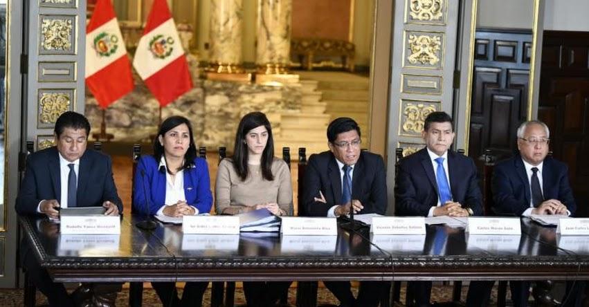 Presupuesto del Sector Público 2020 aumenta 5.5% y prioriza siete intervenciones de políticas públicas