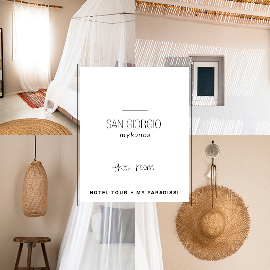 San Giorgio Mykonos: The Room | My Paradissi