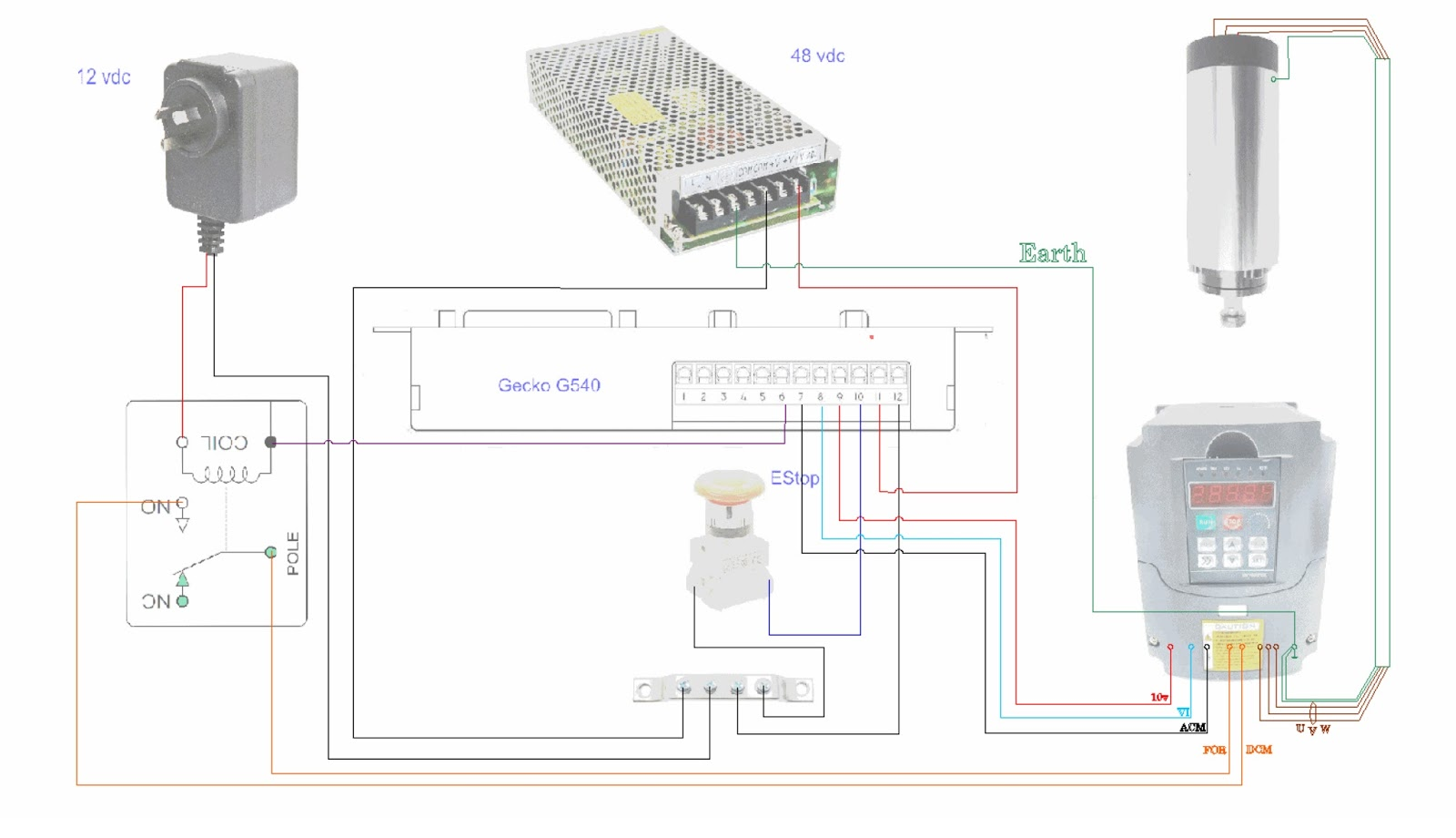 5 axis cnc breakout board wiring diagram uk telephone plug mach3 spindle relay wheels elsavadorla