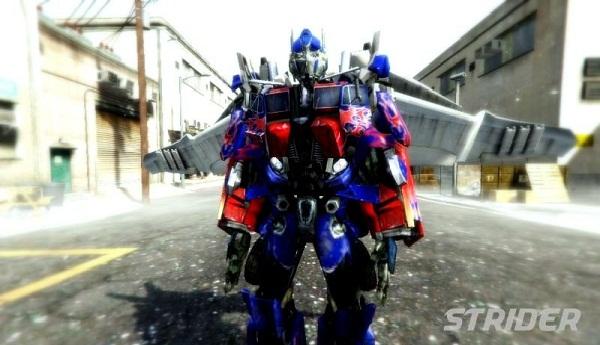 MOD Mini Optimus Prime