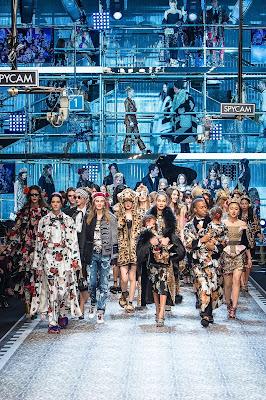 Millenialls show - Dolce & Gabbana