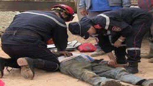 وفاة عامل بناء وإصابة آخر أثناء عملية هدم بإقليم برشيد
