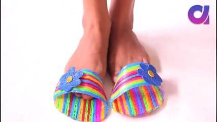 sandal sedotan