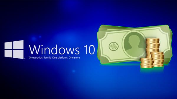 تعرّف كيف تربح شركة ميكروسوفت من ويندوز 10 رغم مجانيته !
