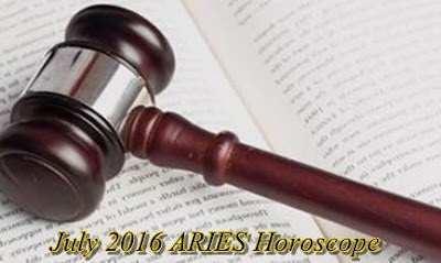 July 2016 ARIES Horoscope forecast zone love money job