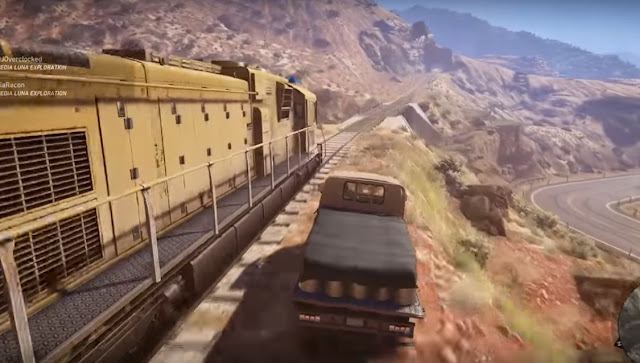 ghost recon wildlands train