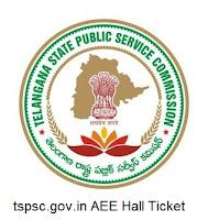 tspsc.gov.in AEE Hall Ticket