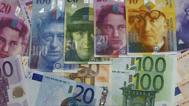 Dinheiro em espécie na Suíça