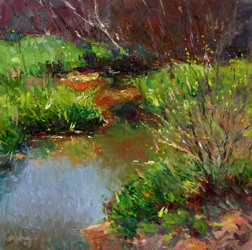 Image Of Sunny Arizona Pools: A Plein Air Painter's Blog