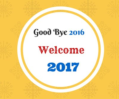 Image Of Goodbye 2016 And Welcome to 2017