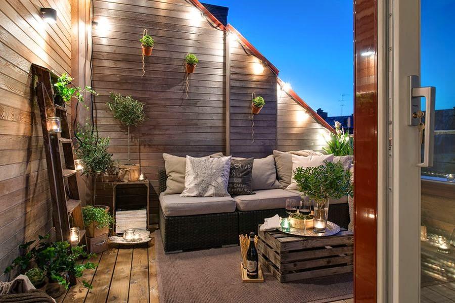 comment donner un coup de frais votre terrasse ou balcon. Black Bedroom Furniture Sets. Home Design Ideas