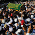 Tens of thousands attend funeral of murdered Muslim lawyer in Myanmar