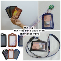 Id card holder semi kulit, Tempat Id Card Kulit, Name Tag Kulit, ID Card Holder, Casing ID Card