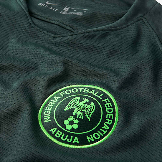 0a628a83d Nigeria 2018 World Cup Away Kit Revealed - Footy Headlines